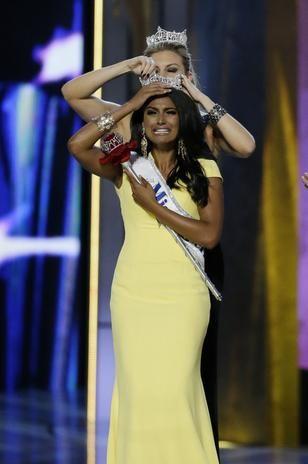 """NUEVA YORK (D., 15 SEP 2013) - """"Nueva York repite corona en Miss America 2014"""". Nina Davuluri, de ascendencia hindú, se coronó como MISS AMERICA 2014, en el certamen que tuvo lugar en  Boardwalk Hall, en Atlantic City, New Jersey."""