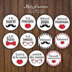 #mariage #badges