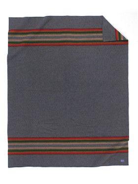 Heather Green Pendleton blanket