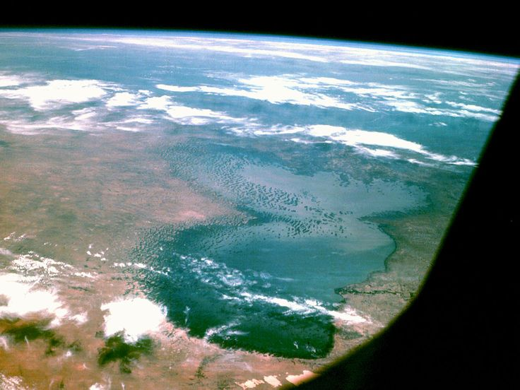 "TIL the word ""Chad"" as in the African country means ""large expanse of water"" or ""lake"" so Lake Chad just means Lake Lake and the country name Chad just means Lake despite being significantly covered by desert"