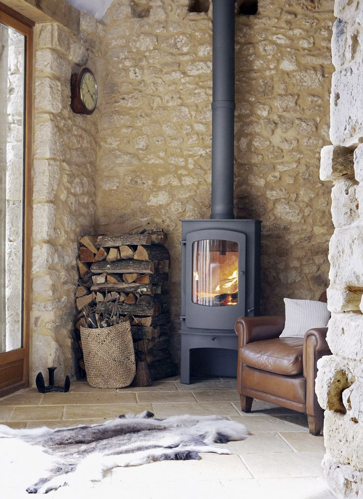 wood burning stove- that's the one