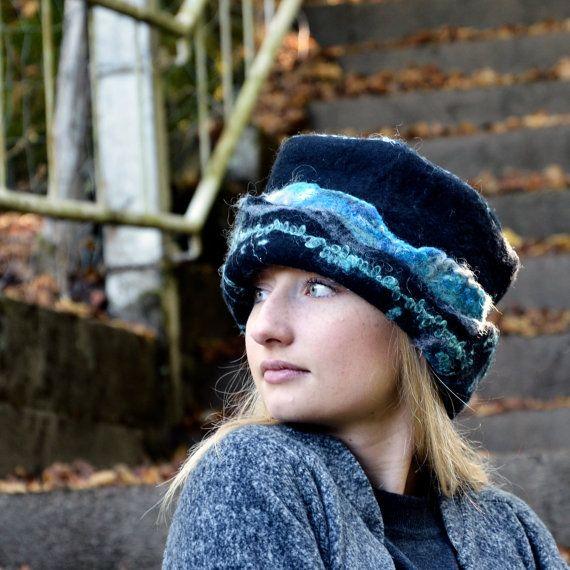 Voelde Hat vervilte wol hoeden Womens winter hoeden door jannio