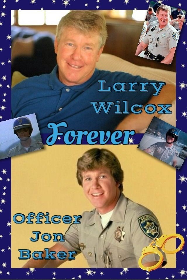 Larry Wilcox as Jon on CHiPs