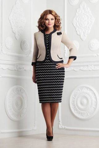 Костюм (платье, жакет) - заказать и купить с доставкой в интернет-магазине «L'MARKA»