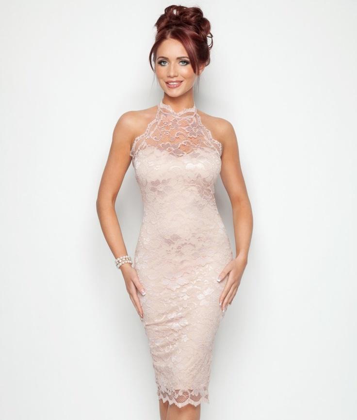 Amy Childs Lola Halter Dress