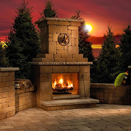 17 Best Images About Outdoor Fireplaces On Pinterest Outdoor Fireplace Plans Propane