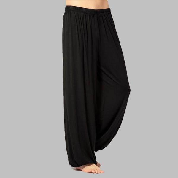 FREE SHIPPING, plus size pants men and women Modal bloomers pants home tai chi  sweat Pants both free shipping