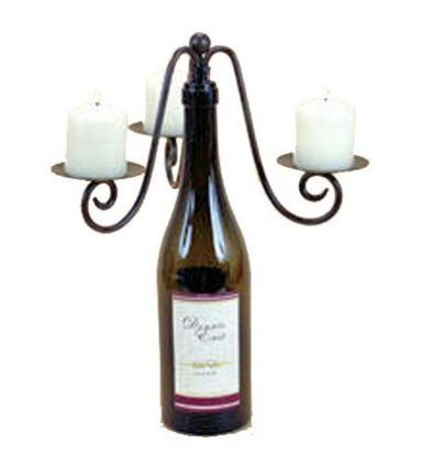 old wine bottle lamp WHAT TO DO WITH OLD WINE BOTTLES – FUN IDEAS TO USE WINE BOTTLES IN HOME DECOR