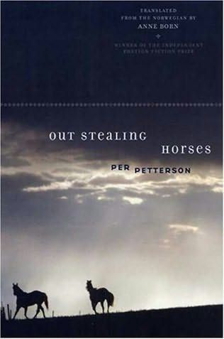 book cover of   Out Stealing Horses