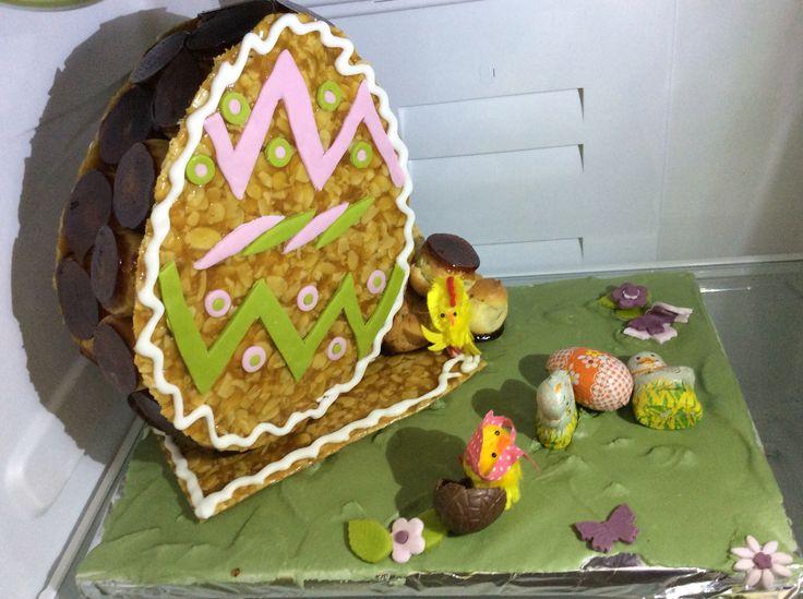 Piece montee de Pâques