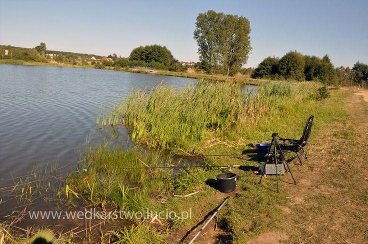 "#Lake ""Niedźwiadek"" in #Poland #fishing #wędkarstwo #wedkarstwo"