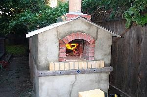 The Brick Oven Project sized just right
