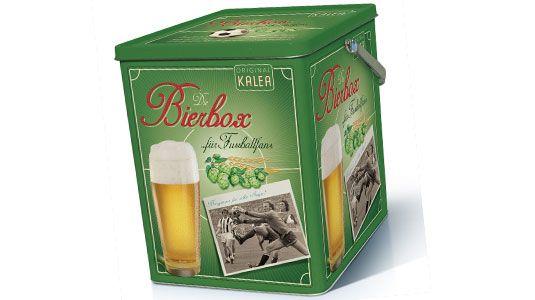 Die Bierbox für Fussball Fans - 9x 0,5l feinster Biergenuss.