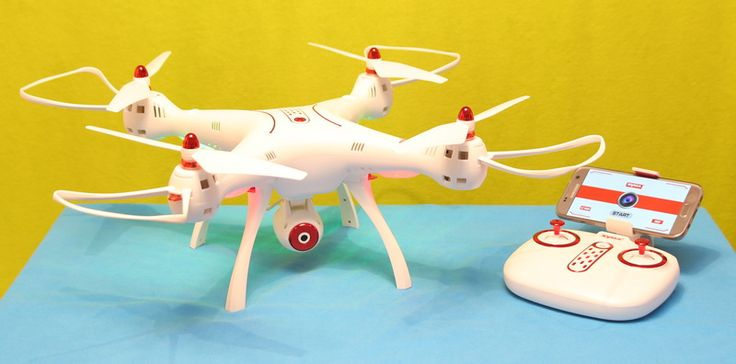 Syma X8SW quadcopter with altitude hold and WiFi FPV camera