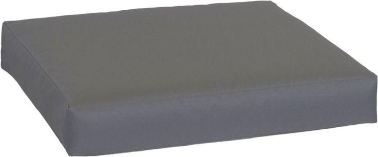 Sitzkissen Lounge Kissen Palettenkissen Farbe anthrazit Bezug 100% Polyester was