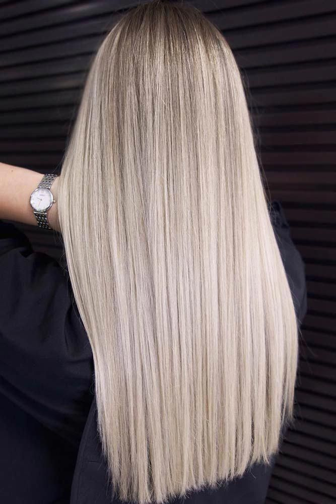 Long Platinum Blonde Hair Style Lognhair Straighthair Explore Tips On How To Get Straight Hair O Long Platinum Blonde Long Hair Styles Straight Hairstyles