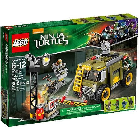 LEGO Nickelodeon Ninja Turtles Turtle Van Takedown