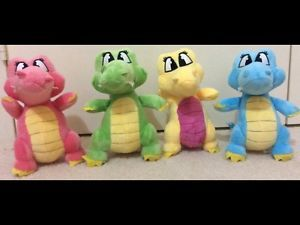 Cric Croc 20cm Plush TOY Crocodile IN Colours Pink Yellow Blue AND Green | eBay