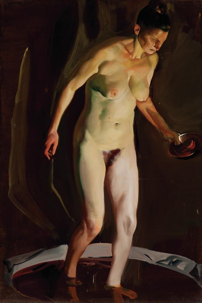 Csernus, Tibor, Bathsheba, Undated, Oil, Canvas