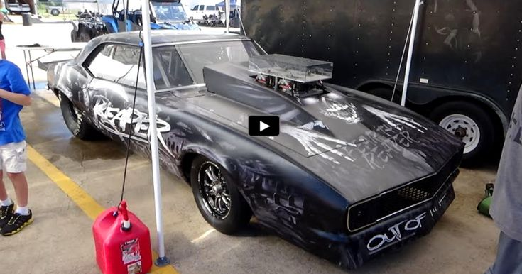 Watch the Nitrous Fed '68 Camaro SS Reaper in Action!