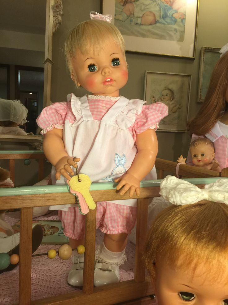 1965 Toys For Boys : Quot real live lucy doll by ideal my room