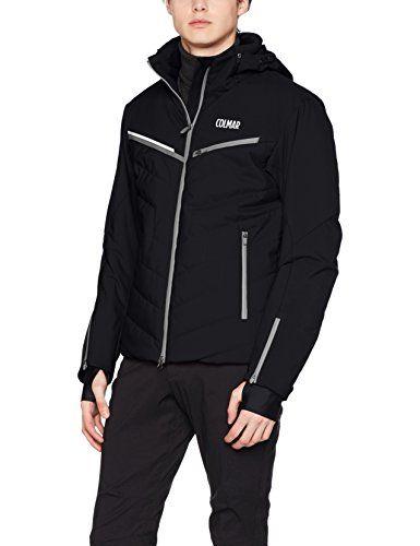 #Colmar Herren Kandahar Ski Jacket Jacke, Black, 48, 08300982595481