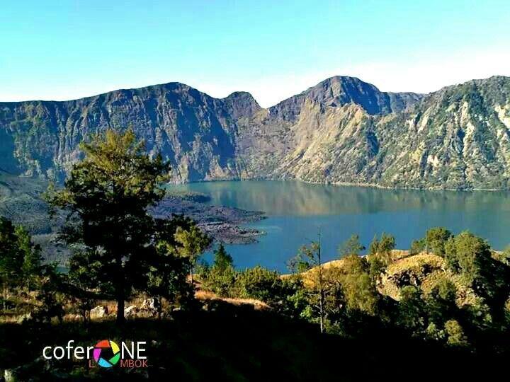 Sisi lain danau segare anak !! SGyoung new Picsart # free # CoferOne_Lombok