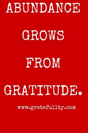 I love this blog! How to use The Secret and Gratitude to become rich!