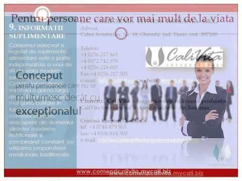 Instructiuni pentru lansarea de comenzi in magazinul online Comenzi CaliVita. http://comenzicalivita.mycali.biz/