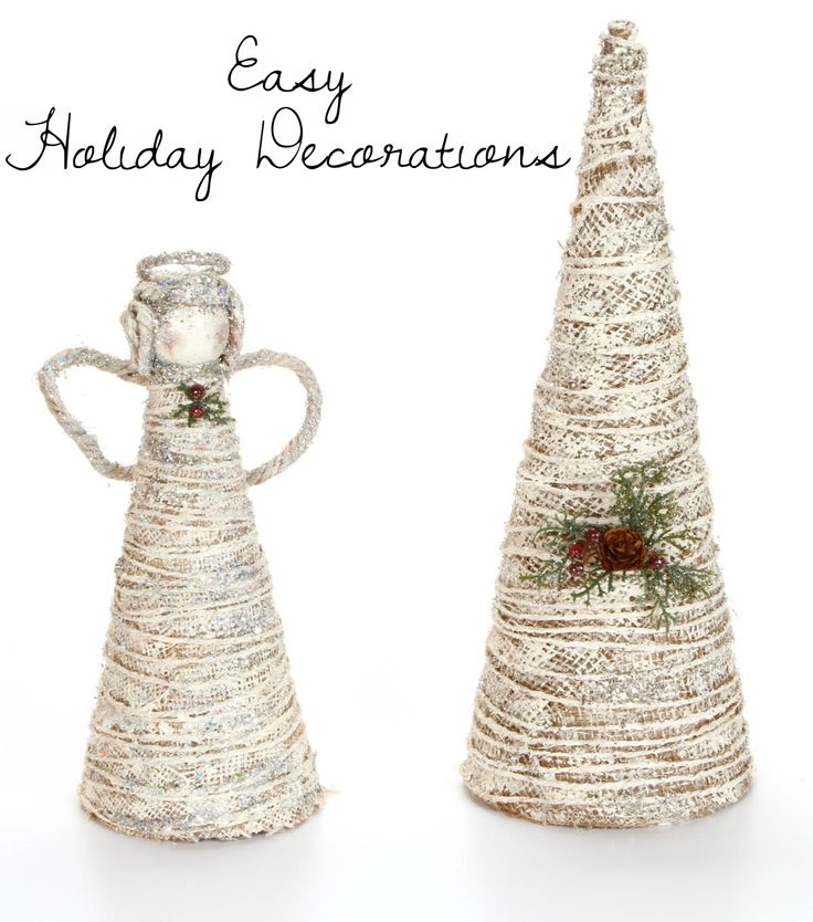 Paper Mache, Easy Christmas Decorations And Diy Christmas