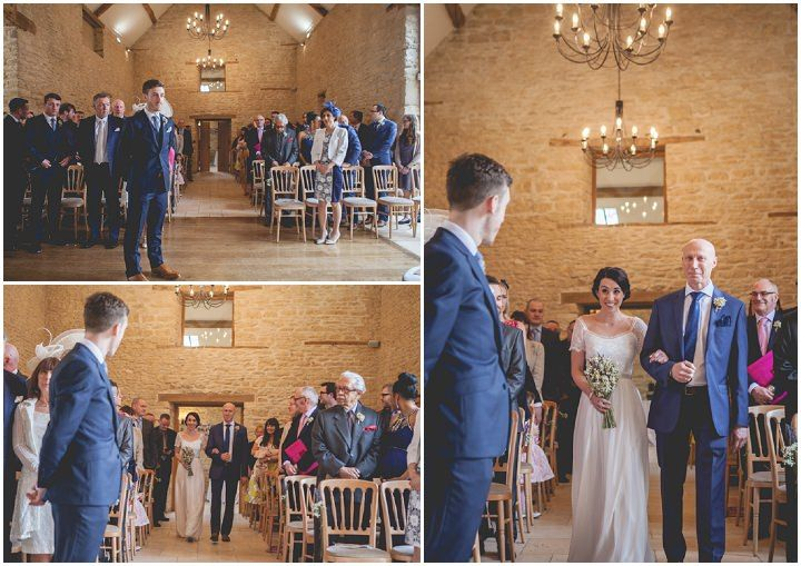 Tania and Andy's Cotswolds Barn Wedding With Lots of Pesonal Touches By Claire Basiuk Photography