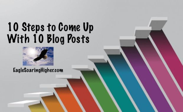 Day 11: The challenge today is to create 10 post ideas for your blog!  How many blog post ideas can you come up with today? What post idea are you most excited about writing? What tool or system do you use to capture your ideas?  #31DBBB #EagleSoaringHigher #Blogging #Problogger http://www.eaglesoaringhigher.com/2015/09/22/create-10-post-ideas-for-your-blog-day-11-of-31-days-to-build-a-better-blog-from-problogger/