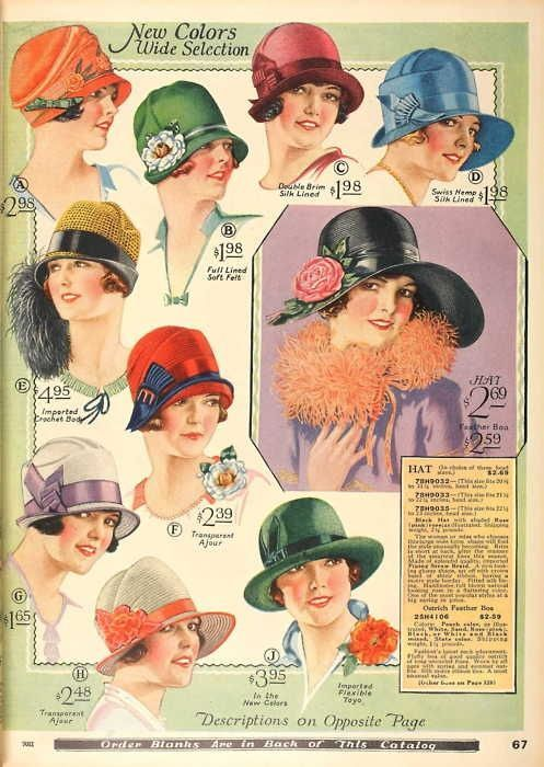cloche hat designs - Google Search