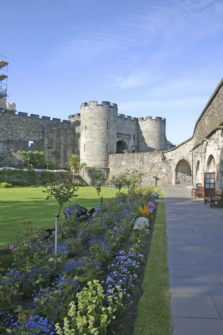 Stirling Castle ~ Stirling, Scotland ~ http://nexttrip.com/tour/scotland-experience-tour