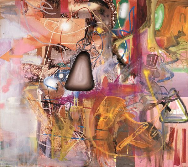 Review: Albert Oehlen, A Master Of Disciplined Excess. New York PartyHome  And GardenThe ...