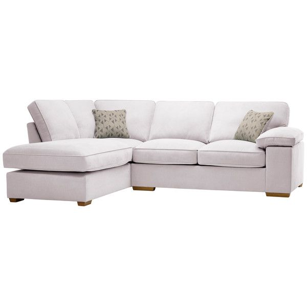 Silver Fabric Sofas Corner Sofa Right Hand Chelsea Range Oak Furnitureland Corner Sofa Chaise Corner Sofa Corner Sofa Right Hand