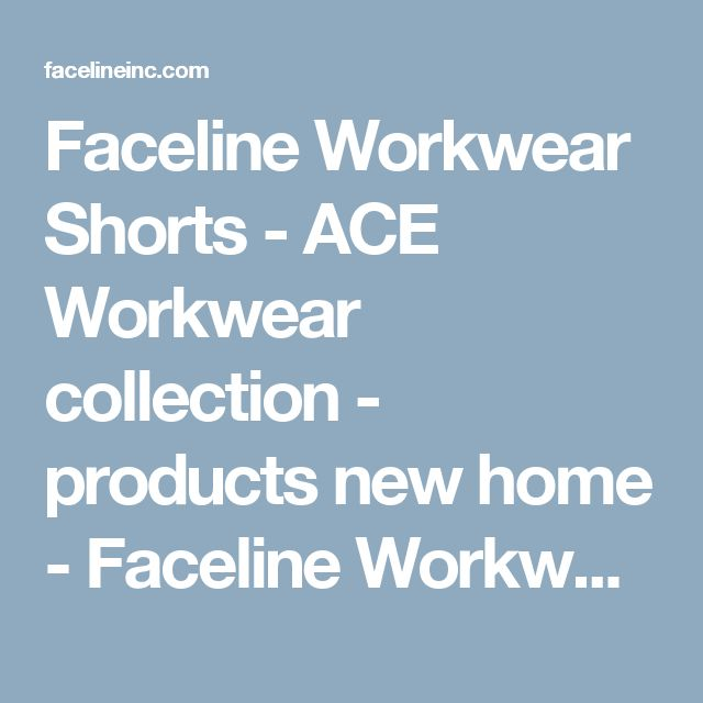 Faceline Workwear Shorts - ACE Workwear collection - products new home - Faceline Workwear_Carpenter ACE_Tool pocket_Work shorts_Clay by Björnkläder