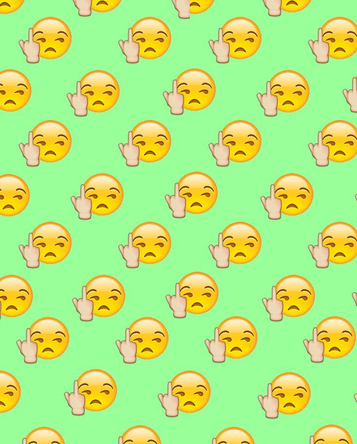 fuck you emoji wallpaper descargalo ya en wallpapersaa