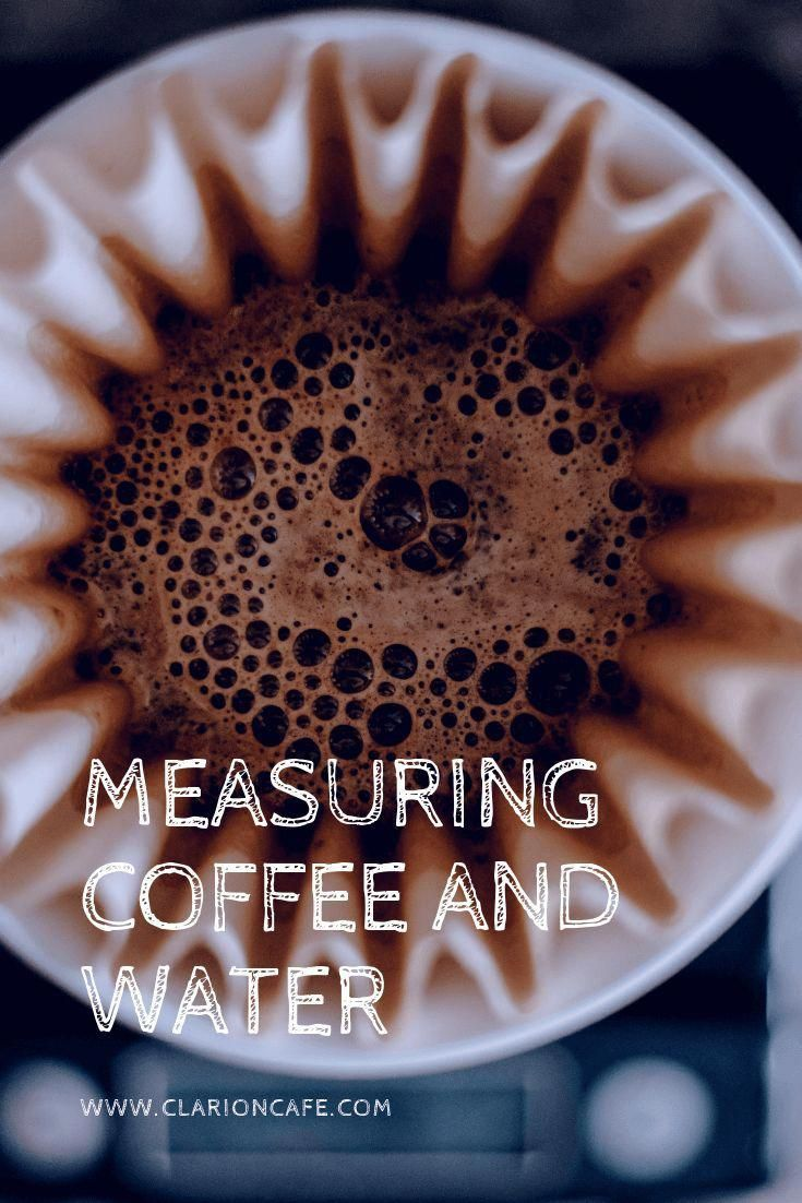 Best Coffee to Water Ratio How to Measure for Most