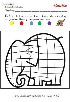 Elmer Elefante atención y grafo (11)
