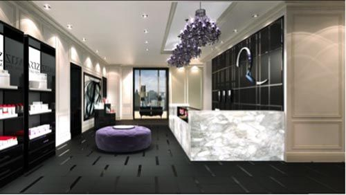 Hollywood glamour at the Trump Toronto's Quartz Crystal Spa
