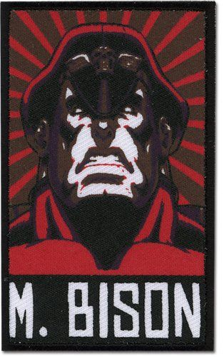 Street Fighter II - HD Remix M.bison Patch @ niftywarehouse.com #NiftyWarehouse #StreetFighter #VideoGames #Gaming