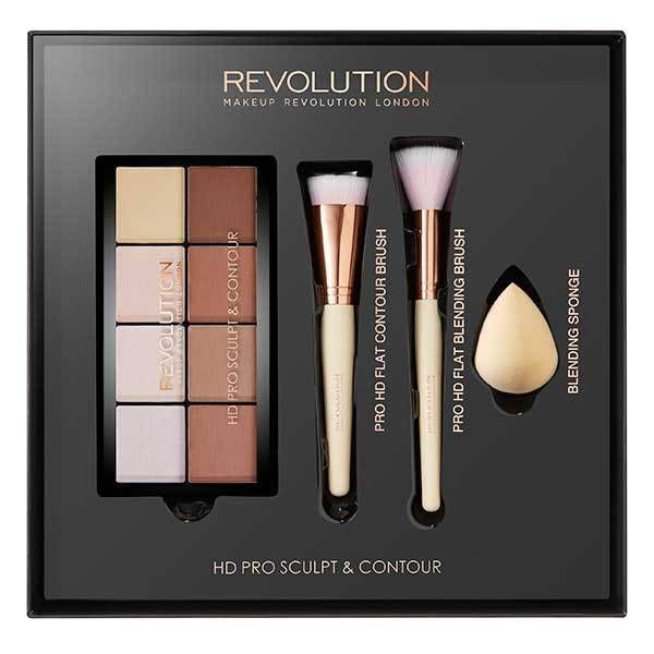 Makeup Revolution HD Pro - Sculpt & Contour Set