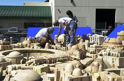 The Incredible Invisible Practical Effects Miniatures Used to Create the Star Wars Prequels