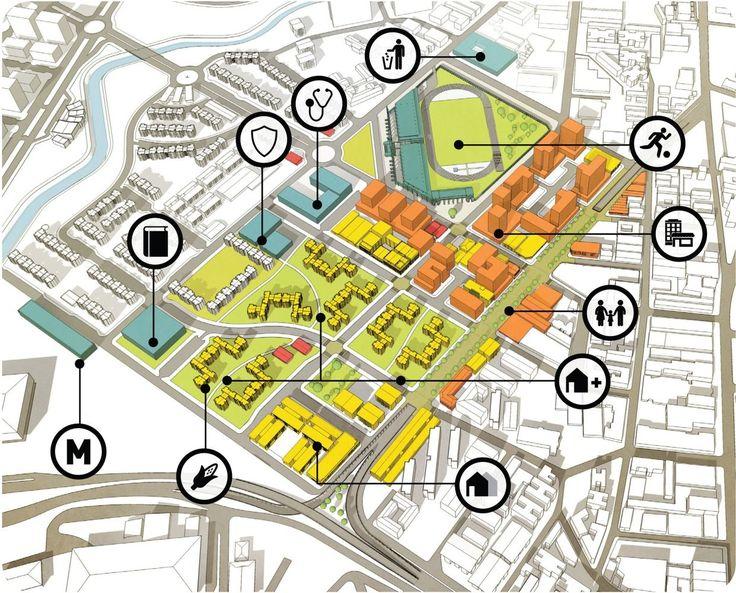 Regeneración urbana en Curundú: propuestas finalistas del BID Urban Lab 2015,Cortesía de Universidad de Panamá