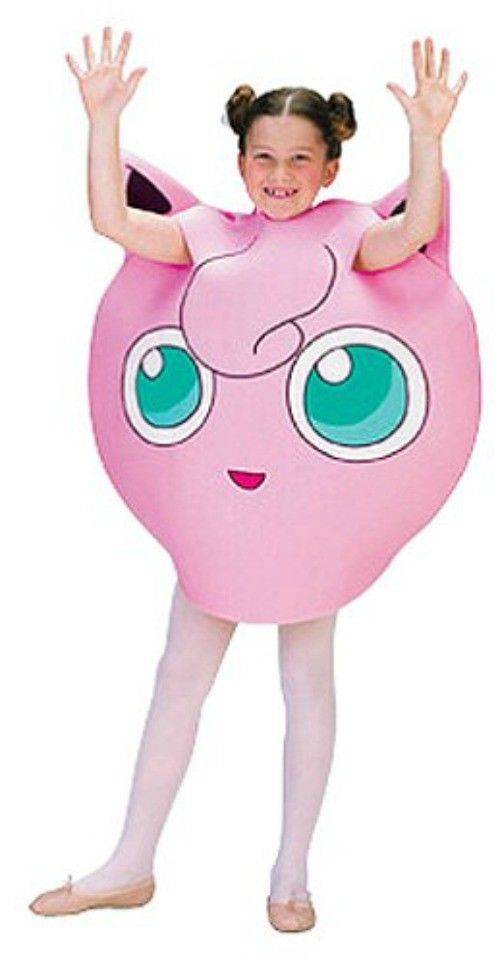 Girls Pokemon Jigglypuff Costume Small 4-6 Halloween Kids Child in Clothing, Shoes & Accessories, Costumes, Reenactment, Theater, Costumes | eBay