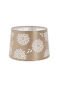 CUT OUT DRUM LAMP SHADE