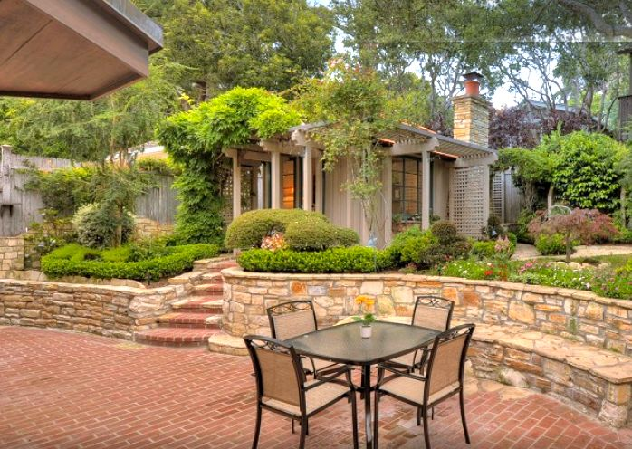 102 Best Beautiful Backyards Images On Pinterest Decks