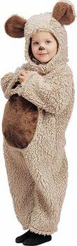 toddler oatmeal bear costume #ToddlerCostume #HalloweenCostume #Halloween2014