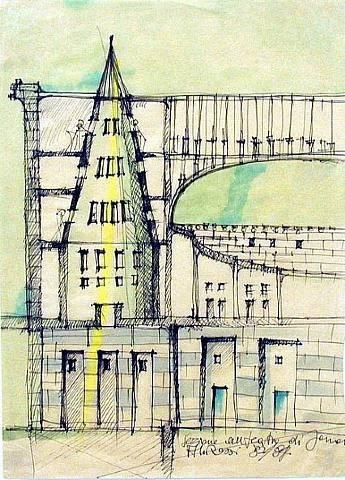 Aldo Rossi, sketch